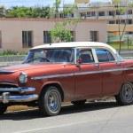 Old fashioned cuban car — Stock Photo #52395893