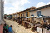 Daily Life in Trinidad, Cuba. — Stock Photo