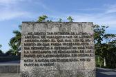 Guevara Mausoleum — Stock Photo