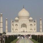 People around The Taj Mahal, India — Stock Photo #52831885