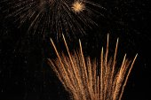 The Power of Fireworks — Stock Photo