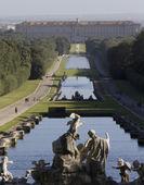 卡塞塔皇宫花园 — 图库照片