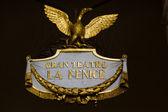 La Fenice emblem — Stock Photo
