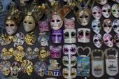 Typical Venetian Carnival Masks — Stockfoto