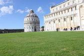 The Pisa Baptistry of St. John — Stock Photo