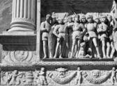 Castel dell'Ovo Bas Relief, Naples — Stock Photo
