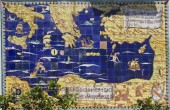 Amalfi mural — Stock Photo