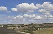 Amazing Tuscany landscape — Stock Photo