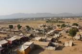 View from the top of Pushkar, India — Stock Photo