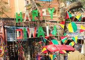 Happi Diwali billboard in Jaipur — Stockfoto