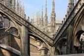 Duomo Cathedral in Milan — Stock Photo