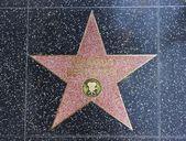 Bernardo Bertolucci star on the floor — Stock Photo