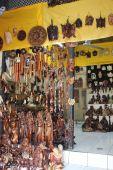 Geleneksel Balinese Hediyelik eşya dükkanı — Stok fotoğraf