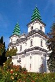 A cathedral-church is in Ternopil (Ukraine) — Stock Photo
