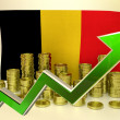 Currency appreciation - Belgian Euro — Stock Photo #58931839