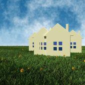 Real estate prices concept — Stock Photo