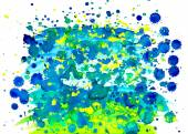 Watercolor stains — Stock Vector
