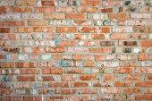 Fundo de textura de padrão de parede de tijolo vermelho — Foto Stock