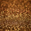 Christmas Background. Golden Holiday Abstract Glitter Defocused — Stock Photo #63577127