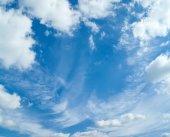 Céu com nuvens — Fotografia Stock