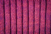 Knitted woolen background, red texture — Photo