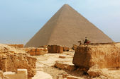 The pyramids at Giza — Photo