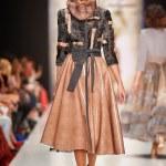 A model walks on the IGOR GULYAEV catwalk — Stock Photo #69171805