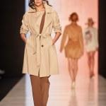 A model walks on the BGN Aleksandr Rogov catwalk — Stock Photo #70522513
