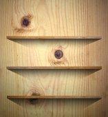 Tło książki drewniane półki — Zdjęcie stockowe