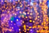 Defocused light  bokeh abstract background. — Stock Photo