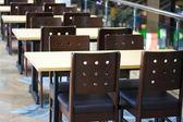 Интерьер кафетерия — Стоковое фото