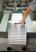 Offset Printing process — Stock Photo