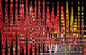 Abstract Red ardent background — Stock Photo