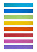 Colorful of Plastic wood collection — Fotografia Stock