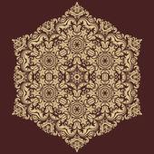 восточный вектор бесшовные шаблон. абстрактный фон — Cтоковый вектор