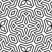 Geometric Seamless Vector Abstract Pattern — Stock Vector