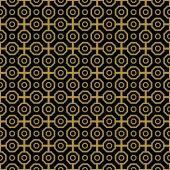Geometric Abstract Seamless Vector Pattern — Stockvektor