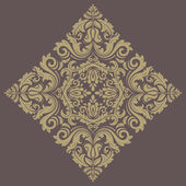 цветочный векторный шаблон. ориент абстрактный фон — Cтоковый вектор