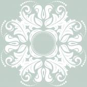 Floral vector patroon. oriënteren abstracte achtergrond — Stockvector