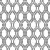 Geometric Abstract Seamless Vector Pattern — Stock Vector