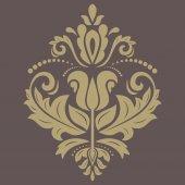 Teste padrão floral vetor. orientar abstrato — Vetor de Stock