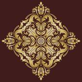 Orient vektor mönster. abstrakt bakgrund — Stockvektor