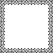Floral Vector Pattern. Abstract Frame — Stockvektor