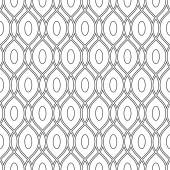 Geometric Abstract Seamless Vector Pattern — Stockvektor