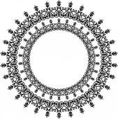 Nastavení orientace vektoru vzor. Abstraktní Ornament — Stock vektor