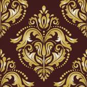 Floral Seamless  Pattern. Orient Abstract Background — Fotografia Stock