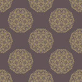 Damask Seamless  Pattern. Orient Background — Stock Photo