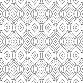 シームレスなベクトルの幾何学的なパターン — ストックベクタ