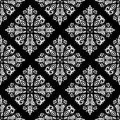 Damask Seamless Vector Pattern — Stock Vector