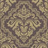 Damask Seamless  Pattern. Orient Golden Background — Stock Photo